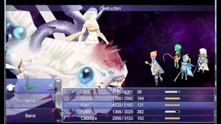 Final Fantasy IV: The After Years Final battle and ending (PC version)