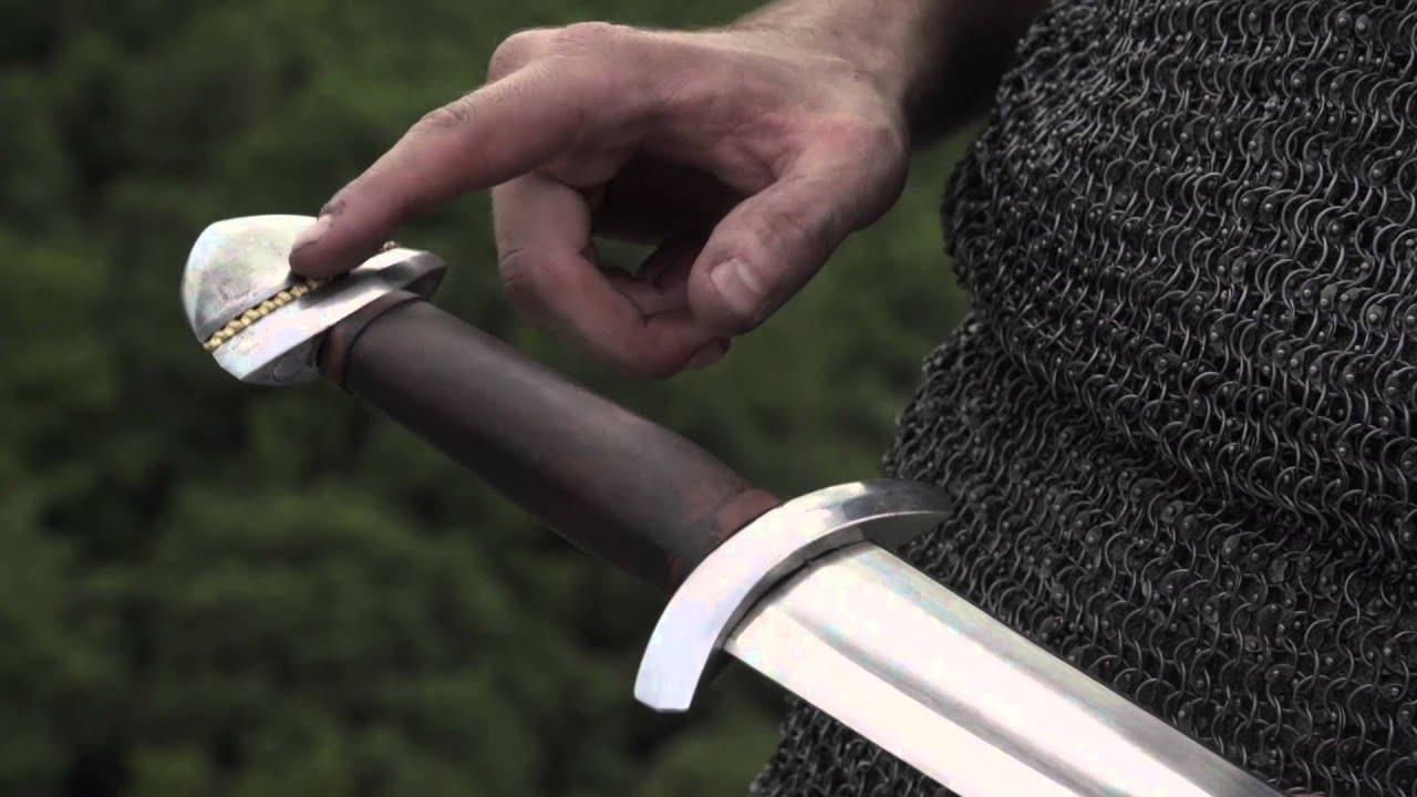 Настоящий топор викингов - YouTube