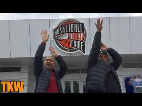 Basketball Hall Of Fame 2019 | Naismith Memorial Springfield TOUR!