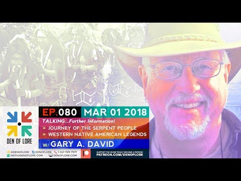 EP. 080 - More Tales from The Journey The Serpent People w/ Gary A. David