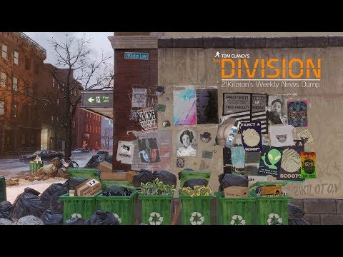 Tom Clancy's The Division Weekly News Dump 28th June