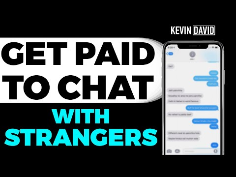 Earn Weekly Income Chatting With Strangers