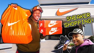 FINDING SOLD OUT SNEAKERS AT THE OUTLET! 3 SNEAKER PICKUPS! I CANT BELIEVE THEY HAD THESE!
