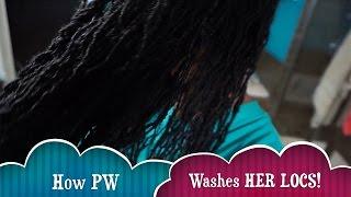 How I Wash My LOCS