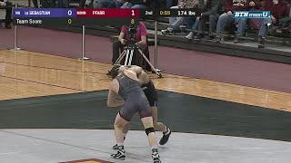 Big Ten Wrestling: 174 LBs - Minnesota's Chris Pfarr vs. Northwestern's Johnny Sebastian