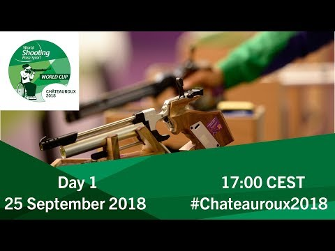 Women's 10m Air Rifle Standing SH1 Final | Day 1 | Chateauroux 2018