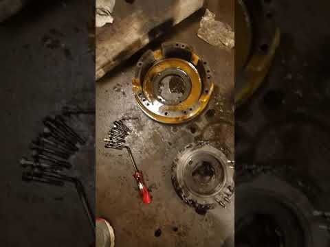 Urgent komatsu transmission repair