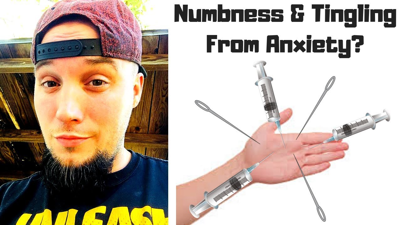 Numbness & Tingling Symptoms Caused by Anxiety? (FINALLY EXPLAINED!)