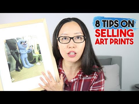 Sell More Art Prints 🤑Using These 8 Tips