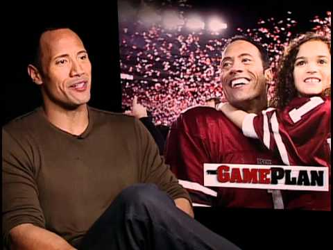 The Game Plan - Exclusive: Dwayne the Rock Johnson Interview