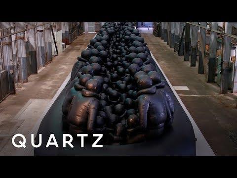 Ai Weiwei is making international refugee art