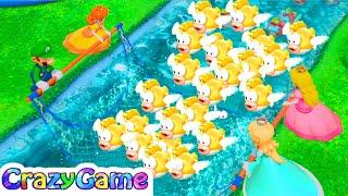 Super Mario Party Top 40 Best Minigames Luigi Vs Peach Vs Rosalina Vs Daisy