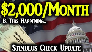Second Stimulus Check Update: $2,000 Per Month Stimulus Check Coming?