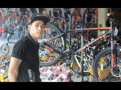 [TOAN THANG CYCLES] Review Xe đạp địa hình GIANT TALON 3 2018