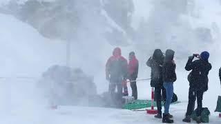 Горные курорты Швейцарии в снежном плену