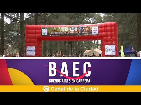 """<h3 class=""""list-group-item-title"""">Corremos """"Tus 15k, Corriendo entre los Árboles"""" y mucho más en Buenos Aires en Carrera</h3>"""