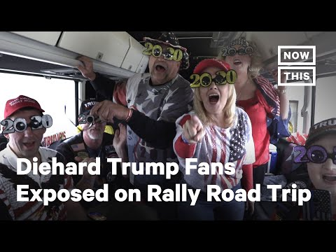 Diehard Trump Fans Exposed On Rally Road Trip | NowThis