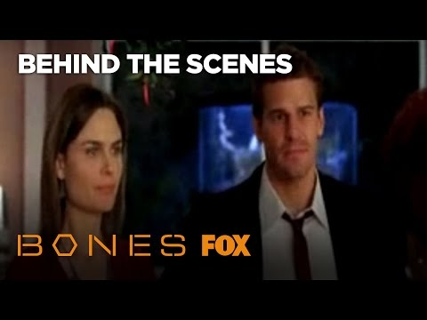 Behind The Scenes Of The Famous Bones & Booth Kiss   Season 3   BONES