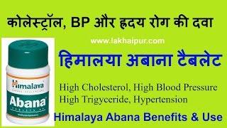 हिमालया अबाना के फ़ायदे कोलेस्ट्रॉल और BP के लिए | Himalaya Abana Tablet Ke Fayde