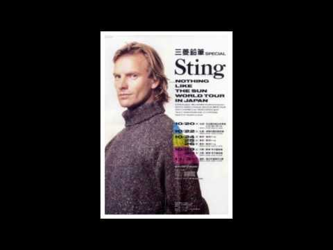 STING LIVE - NOTHING LIKE THE SUN WORLD TOUR IN JAPAN (High Quality Audio)