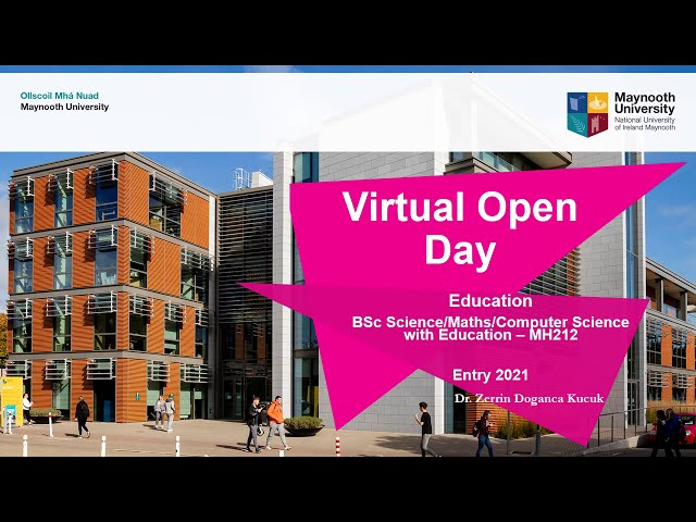 MH212 (2) - Maynooth University Virtual Open Day 2020