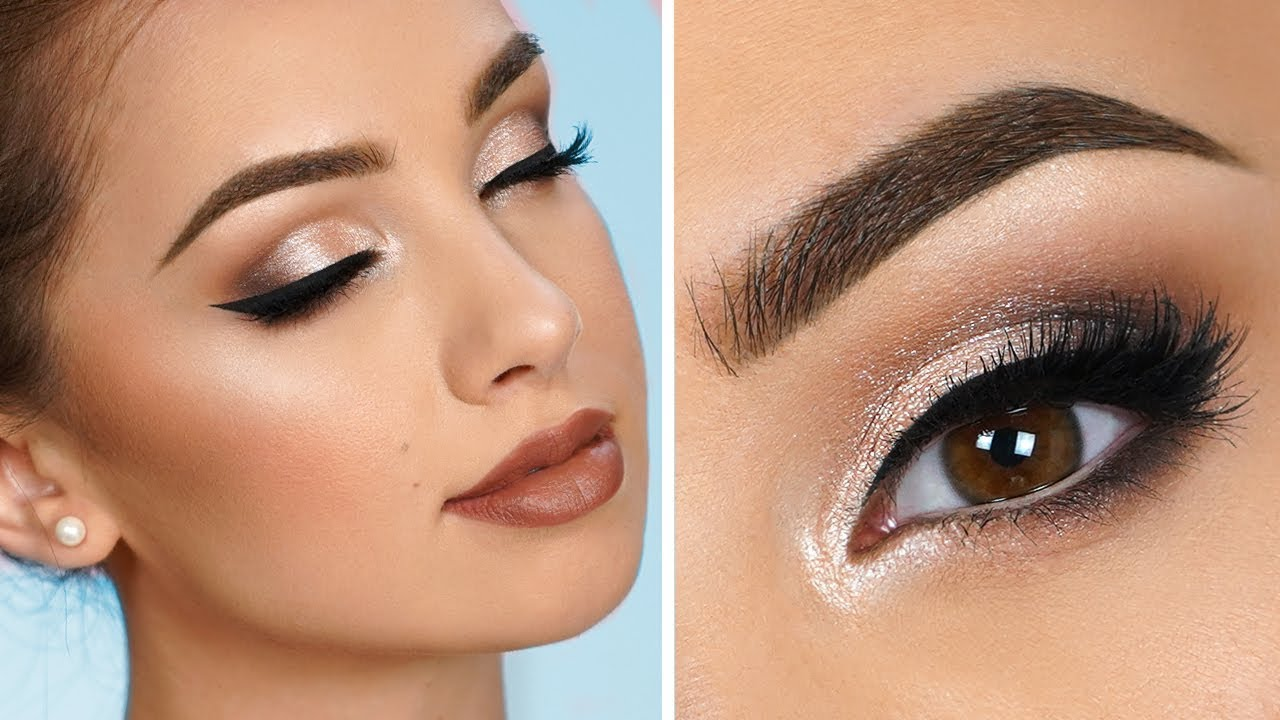 DIY Bridal Makeup - YouTube