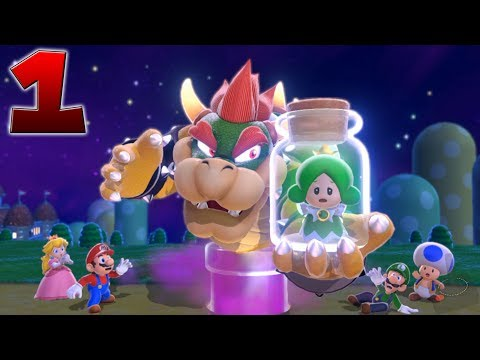 ✪ Super Mario 3D World ✪   1-1 La Colina de la Supercampana Felina [FULL HD]