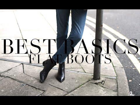 Testing Basics | Flat Ankle Boots
