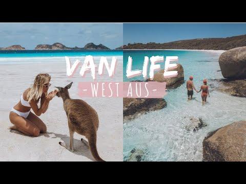 TRAVEL VLOG // VAN LIFE IN WESTERN AUSTRALIA // Elsa's Wholesome Life