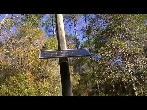 Solar panel telephone pole mount kit. Straps to the side. Strong, for sale, USA