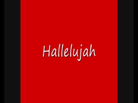 Hallelujah - karaoke - lyrics - Sheet Music