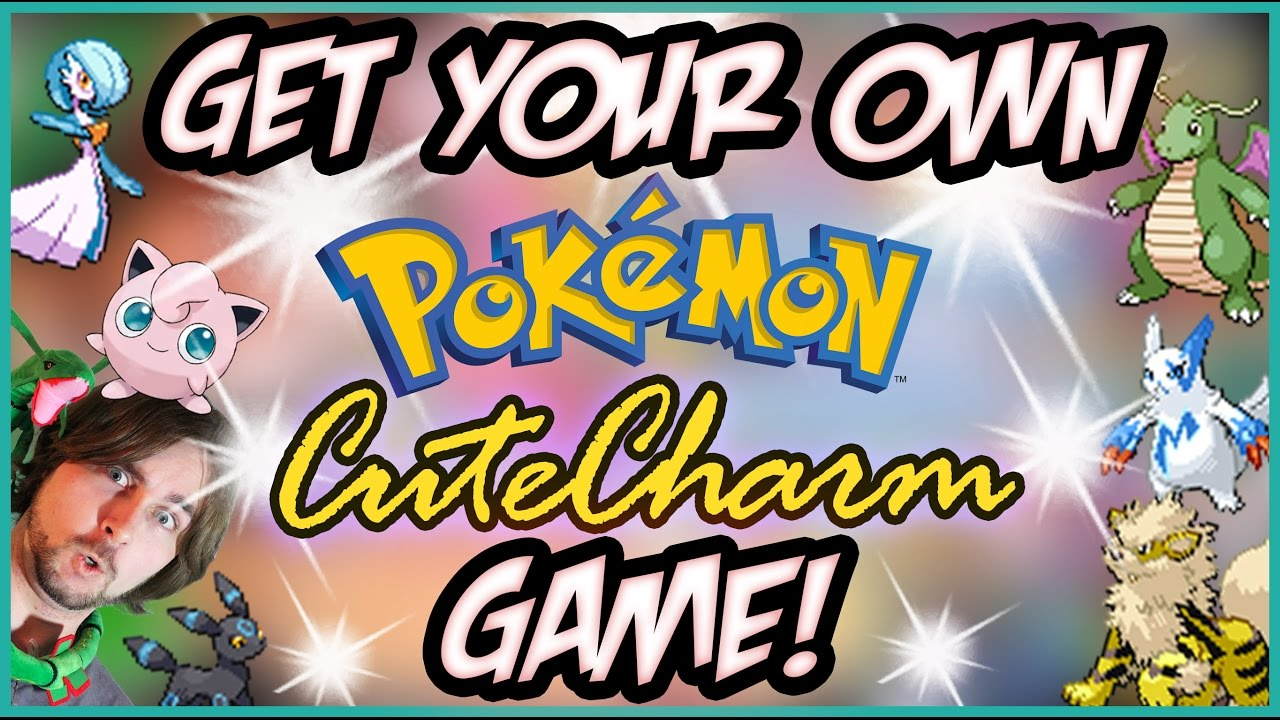 Want Your Own Shiny Pokemon Cute Charm Game?