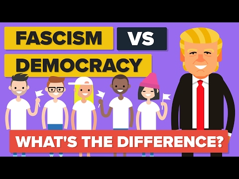 Fascism vs Democracy - What's The Difference? - Political Co