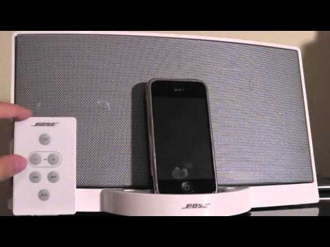 Retro Review: Bose SoundDock Series I [iPhone+iPod Speaker]