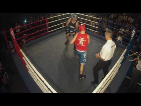 Ultra White Collar Boxing | York | James Barron VS Kay