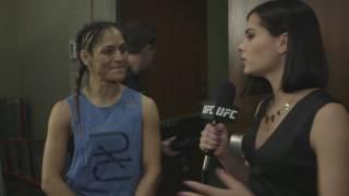 UFC 209: Cynthia Calvillo Backstage Interview