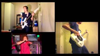 Bombtrack - Rage Against the Machine - Bass Cover (Live 2010 + Tabs)