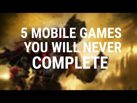 FORGET DARK SOULS 3 | 5 Mobile Games You'll NEVER Complete