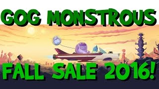 The GOG Monstrous Fall Sale Review! (GOG Galaxy Client, PC Games & Steam integration)