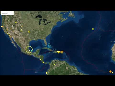 7.1 Earthquake Hits Mid-Atlantic Ridge North of Ascension Islands