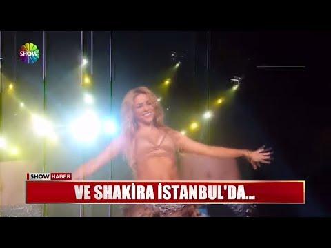 Ve Shakira İstanbul