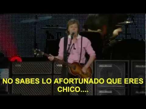 Paul McCartney- Back In The USSR (Zocalo,Mex) Subtitulada Español