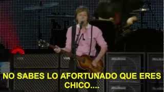 Paul McCartney- Back In The USSR (Zocalo,Mex) Subtitulada Español