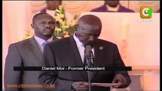 Saitoti's Final Send Off