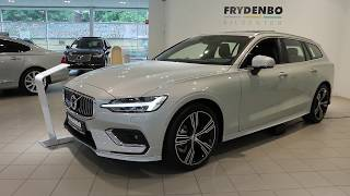 2019 Volvo V60 Inscription w/Styling Package: Exterior & Interior Tour!