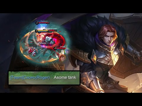 How To Tank So Your Teammates Say You Are Awesome | Mobile Legends