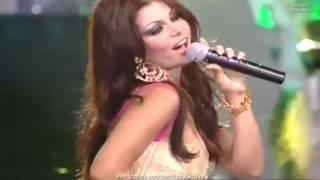 Lagu Merdu Arab Ya Hayat Albi   Ratu Cantik Lebanon Haifa Wehbe  هيفاء وهبي Amazing Live Performance