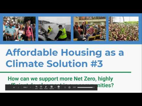 Affordable Housing As A Climate Solution #3