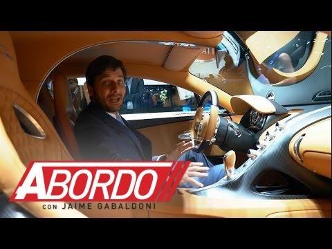 Bugatti Chiron Ginebra 2016 A Bordo