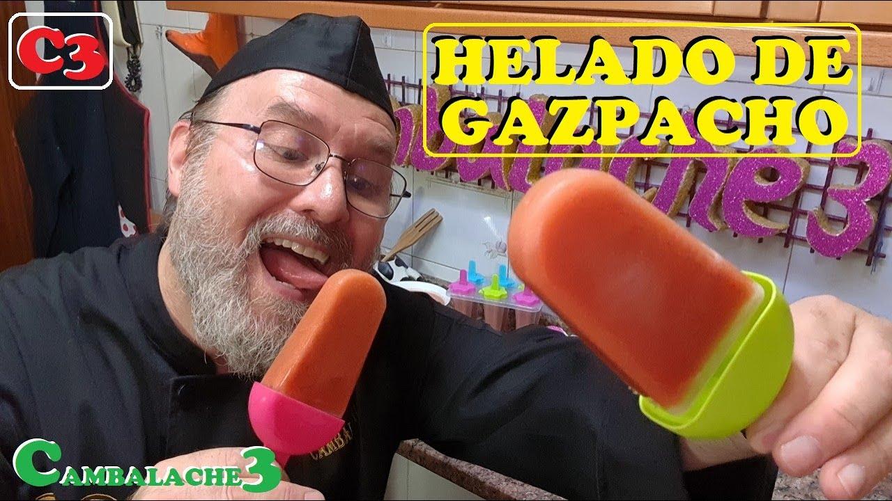 HELADO DE GAZPACHO (QUE FRESQUITO¡¡¡ QUE RICO¡¡¡)